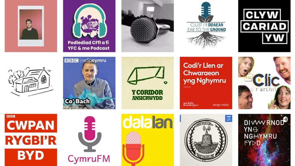 Welsh language podcast service - Y Pod